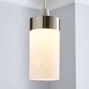 Ferris Satin Nickel Easy Fit Pendant