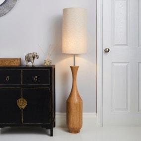 Sala Mango Wood Floor Lamp