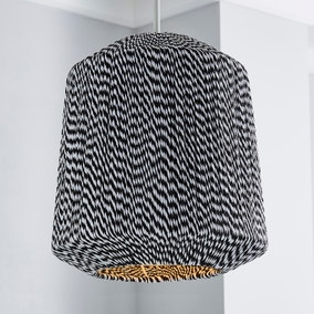 Victor Black and White String Easy Fit Pendant