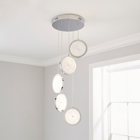 Cora Cluster Disc 5 Light Ceiling Fitting
