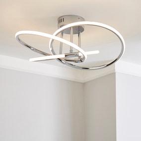 Rhona LED Flush Ceiling Fitting