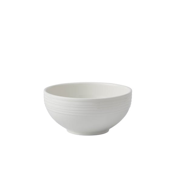 Paige Cereal Bowl White