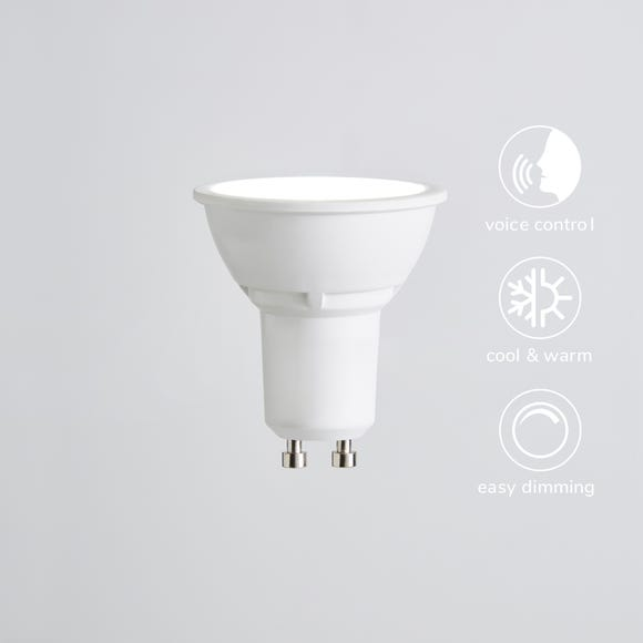 Status 5 Watt GU10 Colour Temperature Changing LED Smart Bulb White