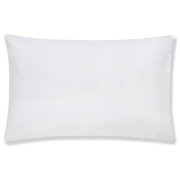 Hotel Egyptian Cotton White Housewife Pillowcase Pair White