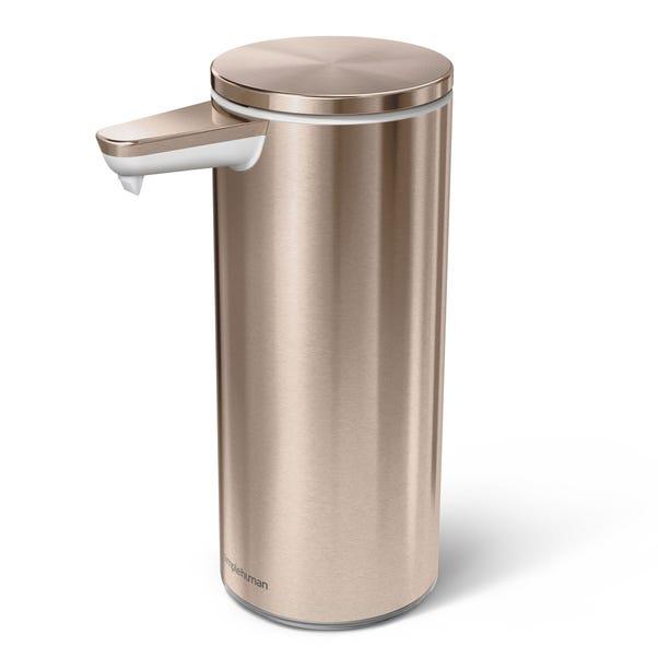 simplehuman Rose Gold Sensor Soap Pump Rose Gold