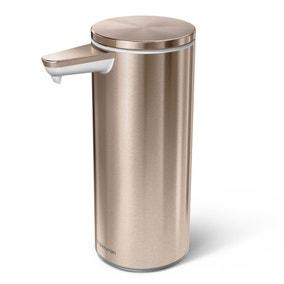 simplehuman Rose Gold Sensor Soap Pump