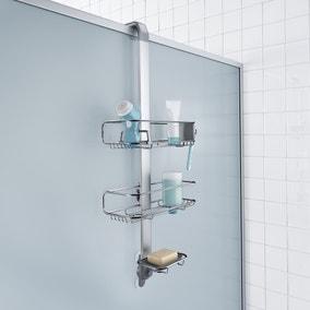 simplehuman Silver Shower Caddy