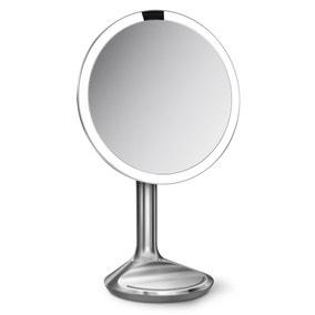 simplehuman Silver Light Up Sensor Mirror