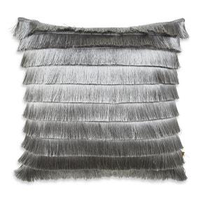 Flicker Silver Cushion