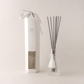 5A Ribbed Peony Petal and Silk 120ml Reed Diffuser