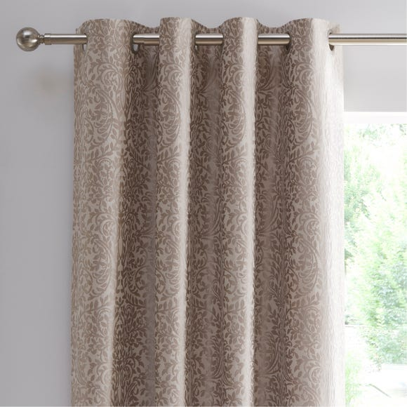 Allana Natural Blackout Eyelet Curtains  undefined
