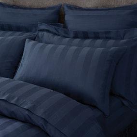 Hotel Egyptian Cotton 230 Thread Count Stripe Housewife Pillowcase Pair