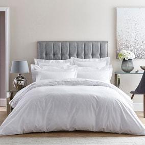 Dorma Egyptian Cotton 400 Thread Count Percale White Duvet Cover