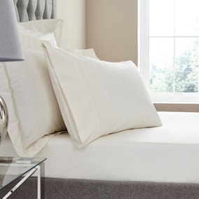 Dorma Egyptian Cotton 400 Thread Count Percale Fitted Sheet