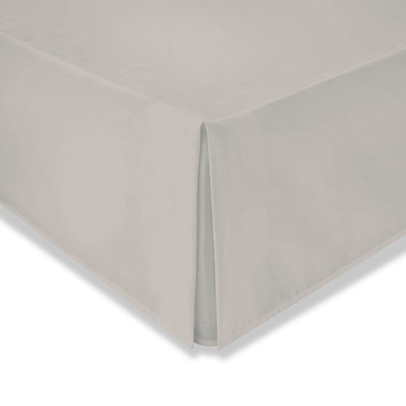Cotton Rich Sateen Natural Valance  undefined