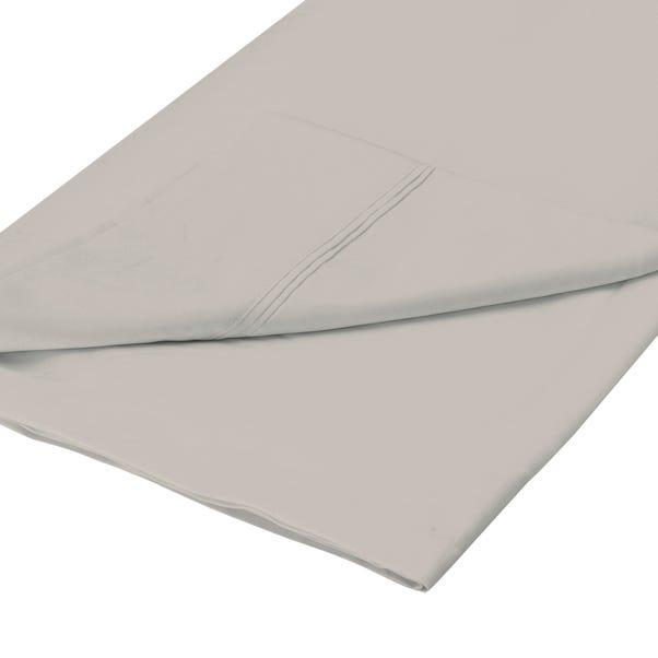 Cotton Rich Sateen Flat Sheet Natural undefined