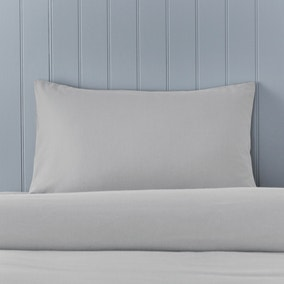 Soft & Cosy Luxury Brushed Cotton Housewife Pillowcase Pair