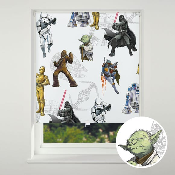Disney Star Wars Blackout Roller Blind Multi Coloured undefined