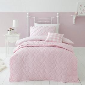 Pink Heart Bedspread
