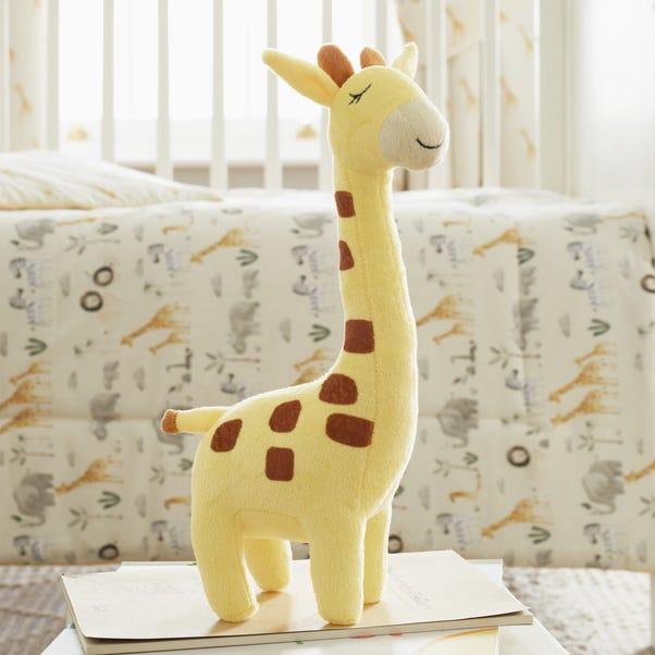 Giraffe Cushion Yellow