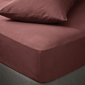 Soft & Cosy Brushed Cotton Fitted Sheet