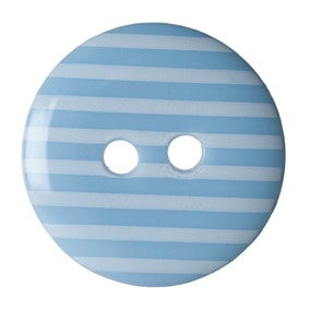 Pack of Six Sky Blue Buttons