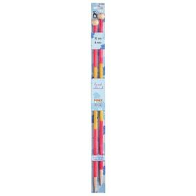Coloured Knitting Pins 35cm x 6mm