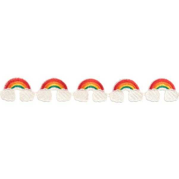 Rainbow Trim Multi Coloured