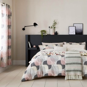 Helena Springfield Arken Blush Duvet Cover and Pillowcase Set
