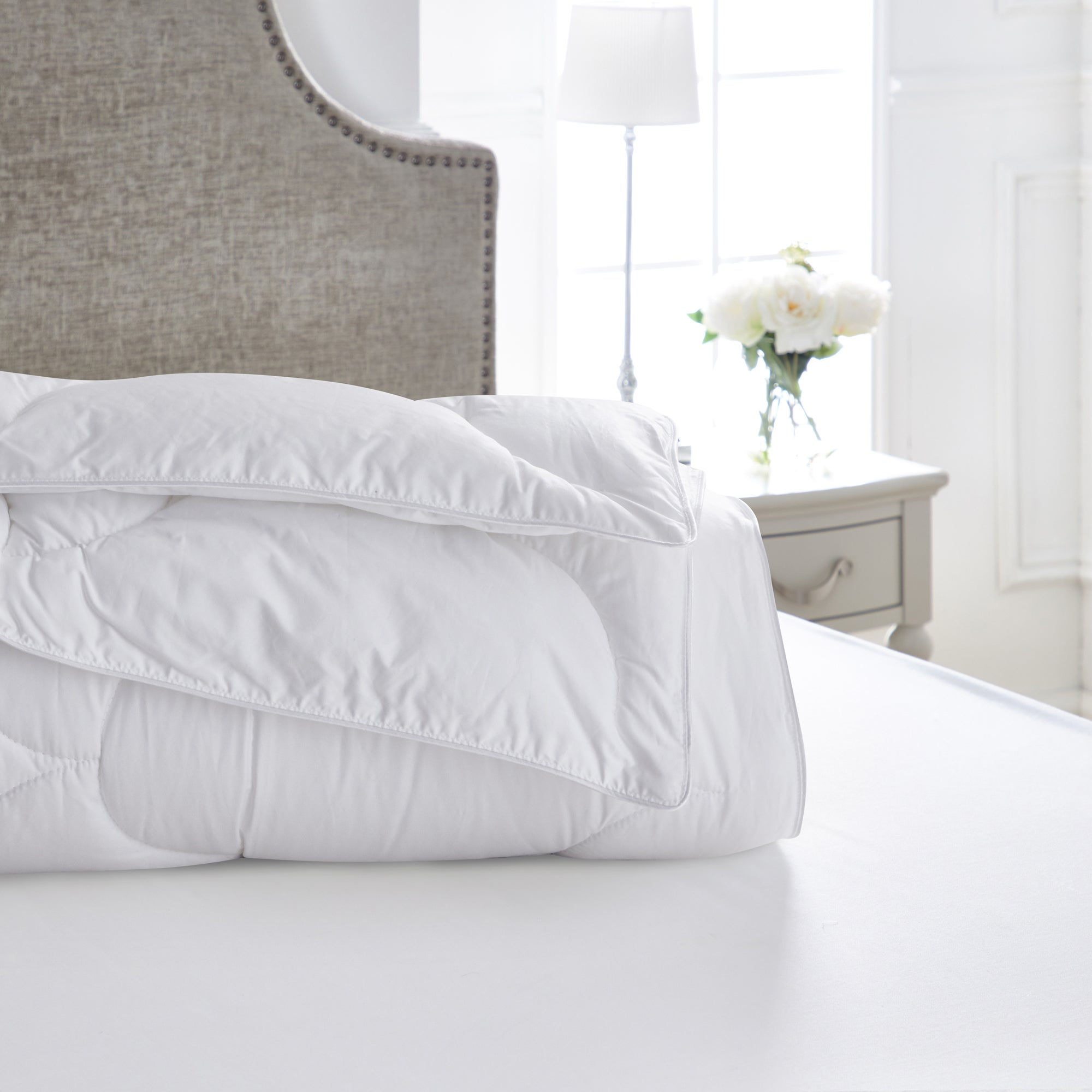 Click to view product details and reviews for Dorma Dream 45 Tog Duvet White.
