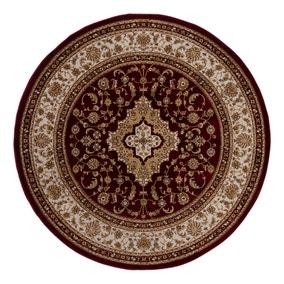 Antalya Traditional Circle Rug