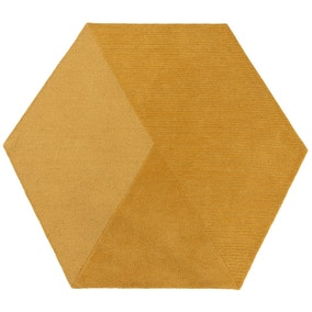 Rebel Wool Hexagon Rug