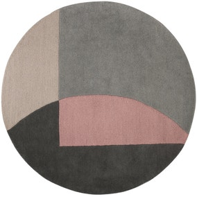 Cobie Wool Circle Rug