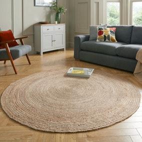 Jute Natural Circle Rug