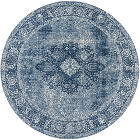 Mila Traditional Circle Rug