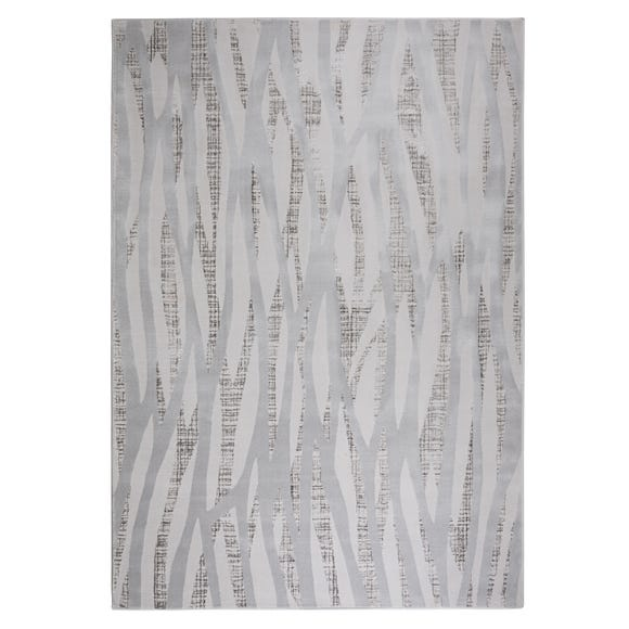 Linear Luxe Silver Rug  undefined
