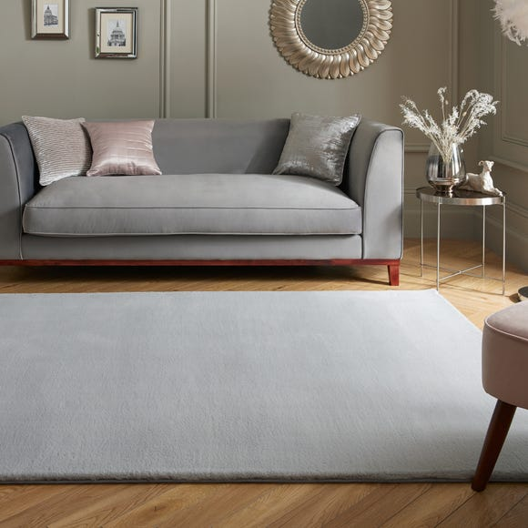 Supersoft Lush Rug Grey undefined