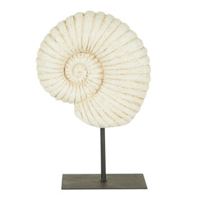 Fossil Shell on Stand Sculpture