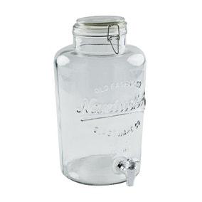 Dunelm 8.5L Glass Drinks Dispenser