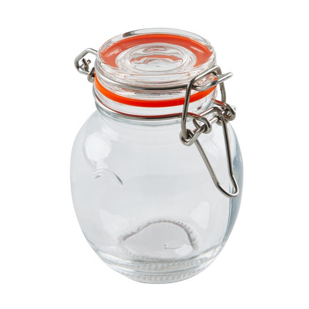 Dunelm 120ml Glass Spice Jar Clear