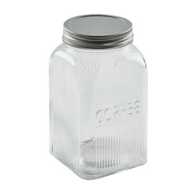Dunelm Glass Coffee Canister