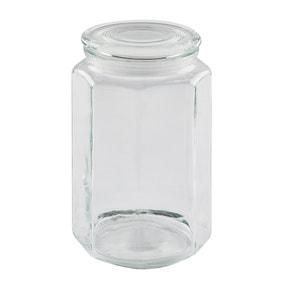 Dunelm 2380ml Glass Jar
