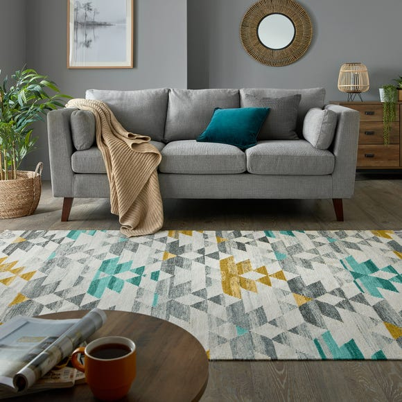 Seattle Wool Blend Rug Seattle Teal undefined