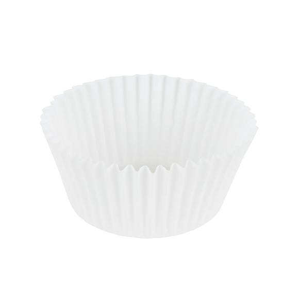 Dunelm 50 Plain Muffin Cases White