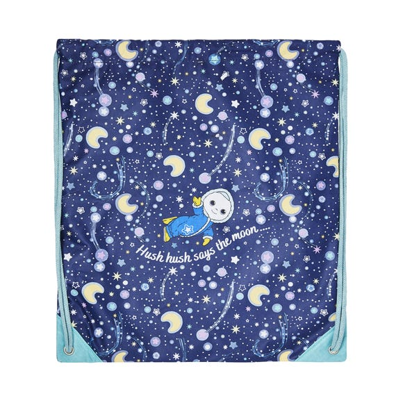 Ulster Weavers Moon and Me Baby Kids Gym Bag Blue