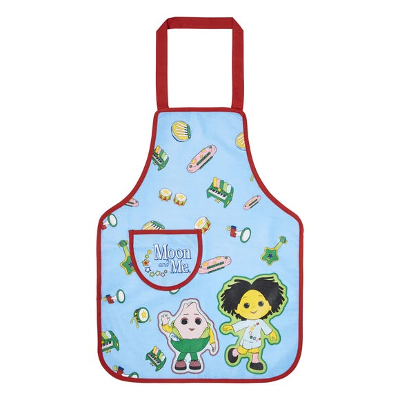 Ulster Weavers Moon and Me Music Kids PVC Apron Blue