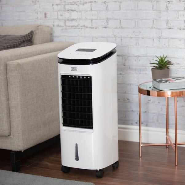 7 Litre Digital 2-in-1 Air Cooler White