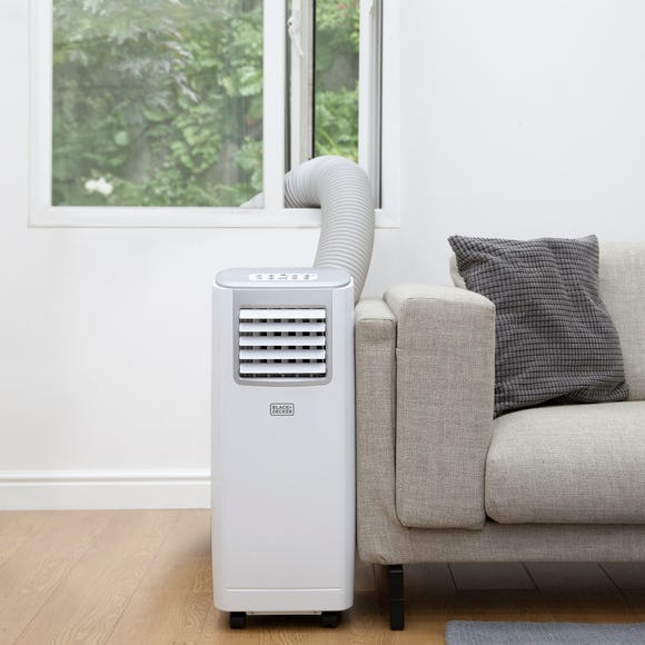 Portable 3 in 1 Air Conditioner and Timer White
