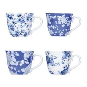 Mikasa Hampton Set of 4 Espresso Cups