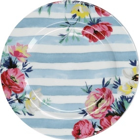 Mikasa Clovelly Floral Striped Side Plate